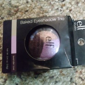 "ELF Baked Eyeshadow Trio ""Lavender Love"" NIB"